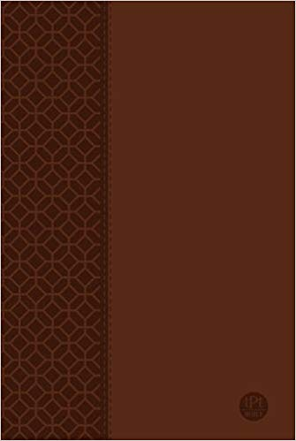 The Passion Translation Bible - Large Print (Brown Leather)