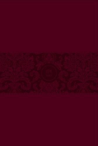 The Passion Translation Bible - Large Print (Burgundy Leather)